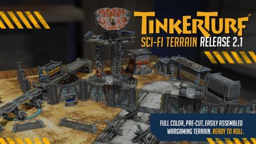 TinkerTurf Sci-Fi Terrain: Release 2.1