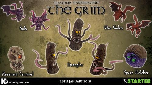 Creatures Underground: The Grim