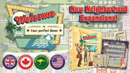 Welcome to... Second Printing + New Neighborhood Expansions