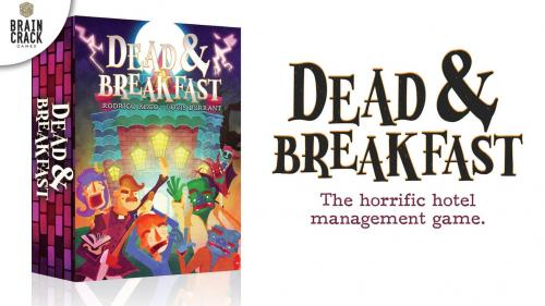 Dead & Breakfast - A Terrifying Tile-Laying Game