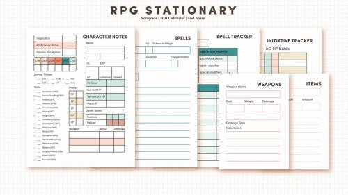 RPG Campaign Stationary