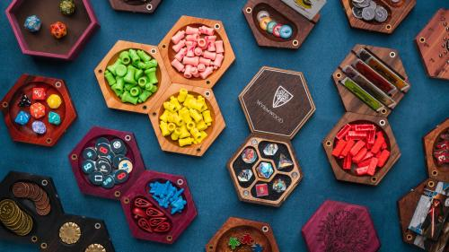 The Hexagonal Gaming System by Wyrmwood
