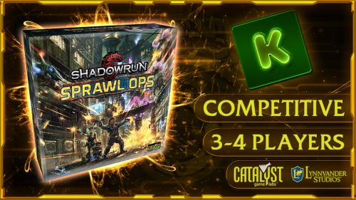 Shadowrun: Sprawl Ops Boardgame