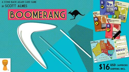 "BOOMERANG - The ""come-back-again"" card game!"