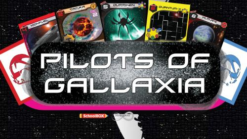 Pilots of Gallaxia: the game that gives back