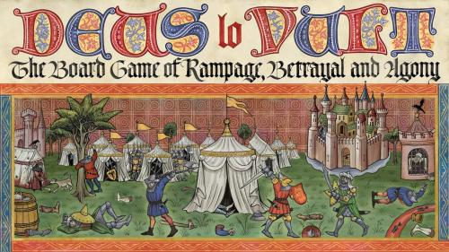 Deus lo Vult – The Board Game of Rampage, Betrayal and Agony