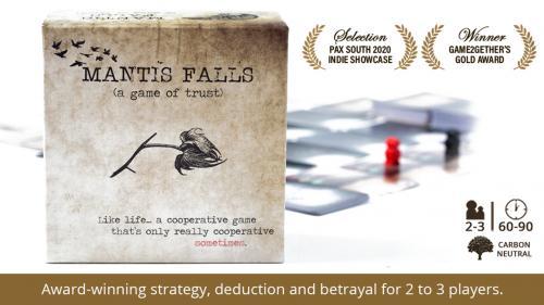 Mantis Falls (a game of trust)