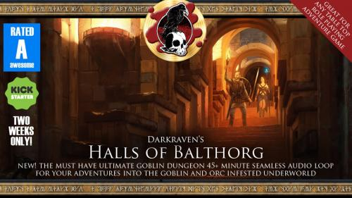 Halls of Balthorg - Awesome Goblin Dungeon Audio