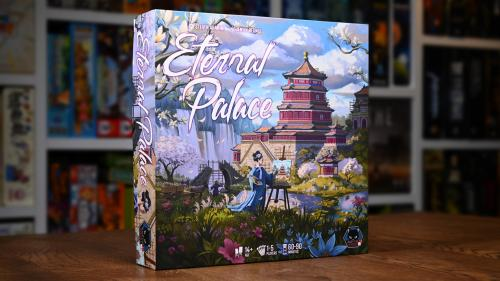 Eternal Palace - a dice placement and painting euro game