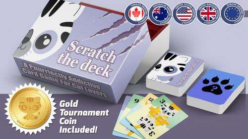 Scratch the Deck: A Puurrfectly Adorable Cats Card Game