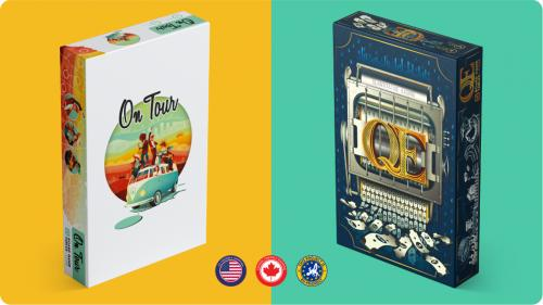 QE and On Tour - Board Games Reprint