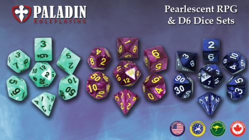 Beautiful RPG Dice Sets for DnD and other roleplaying games