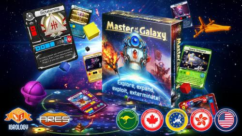 Master of the Galaxy - a 4X board game of galactic expansion