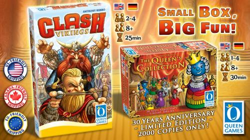 Queen Collection & Clash of Vikings
