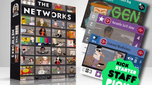 The Networks: A tabletop strategy game for 1-5 TV executives