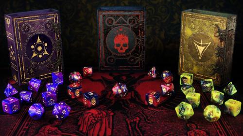 Elder Dice: Unspeakable Tomes - Cthulhu Mythos Themed Dice