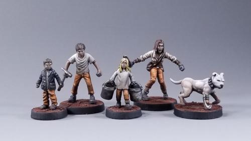 Children of FerrumSky : Child Miniatures for Broken Contract