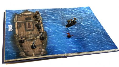 Immersive Battle Maps for Tabletop Roleplaying Games