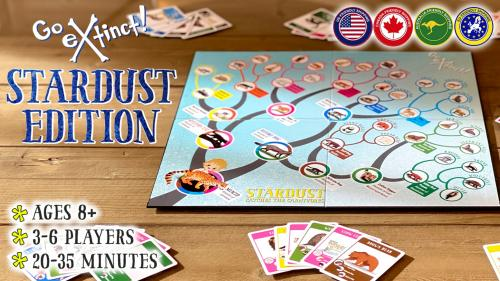 Stardust Edition Go Extinct!: Evolutionary Tree Board Game