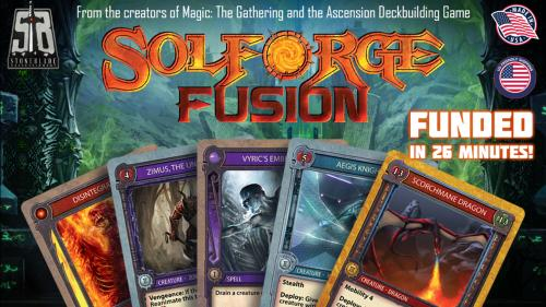 SolForge Fusion: Hybrid Deck Game