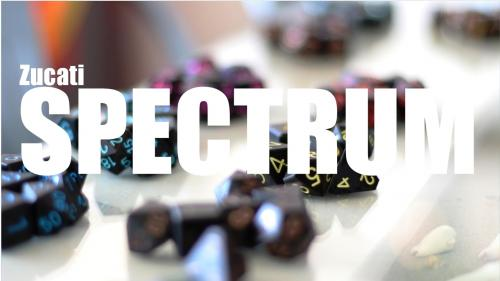 Zucati Spectrum™ Board Game and RPG Dice