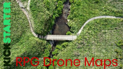 Drone Maps: RPG and Wargames Maps