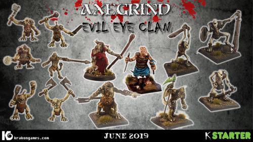 Evil Eye Clan - Multi-part Fomorian raider miniatures