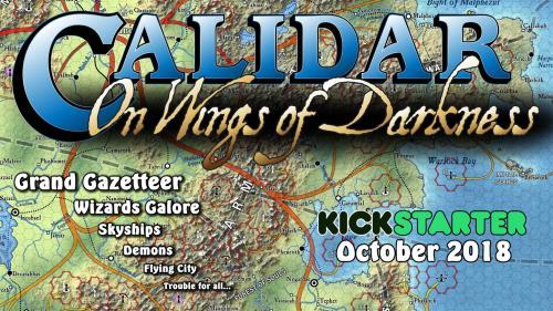 """Calidar """"On Wings of Darkness"""""""