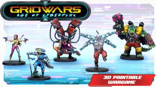 GRIDWARS: Age of Cyberpunk