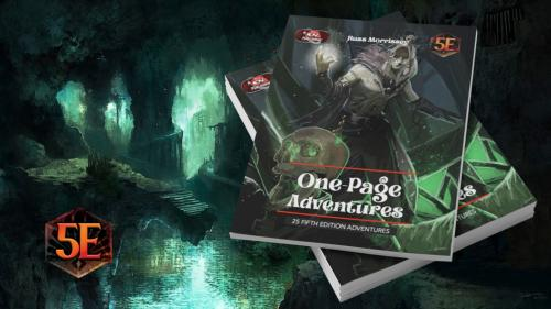 One-Page Adventures for D&D 5th Edition