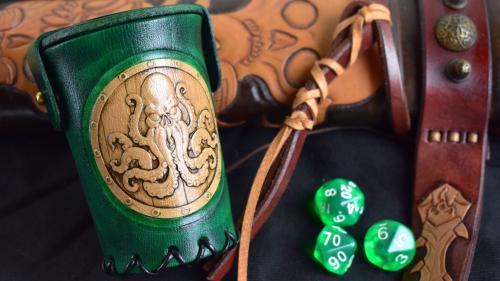 Card n Dice - Leather Gaming Accessories