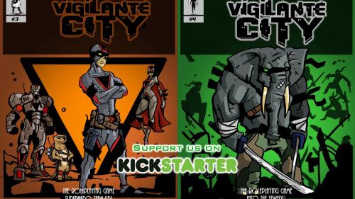 SURVIVE THIS!! Vigilante City RPG 2 Book Quickstarter.