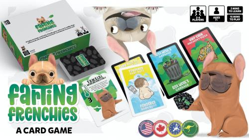 Farting Frenchies: A Card Game