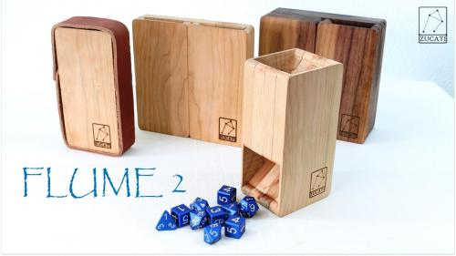 Dice Base™: FLUME 2 - The Ultimate Dice Tower System