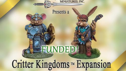 Critter Kingdoms: Anthro Animals Miniatures Line Expansion