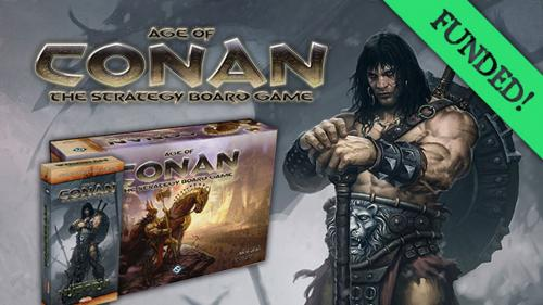 Age of Conan Strategy Boardgame – It s Back!