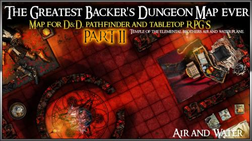The Greatest Backer s Dungeon Map ever Part II maps for d&d