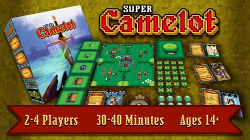 Super Camelot! The 16 Bit Adventure Board Game