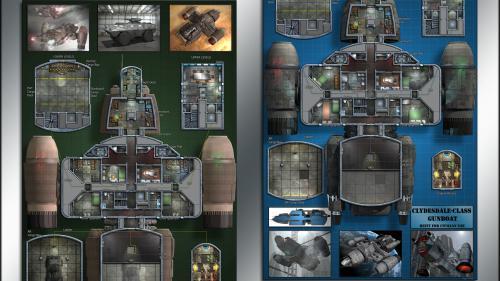 Clydesdale-class Transport: Starship Deckplans