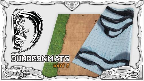 DungeonMats [Wave 2]: Neoprene Mats for RPG & War Gaming