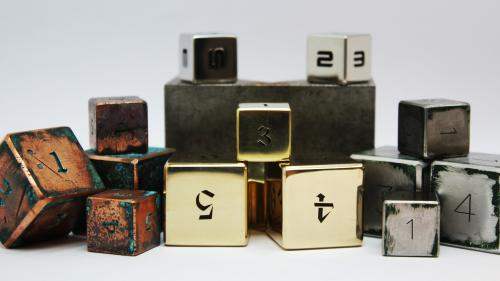 "Game ""X-Pert"" Dices for Real Tabletop RPG."