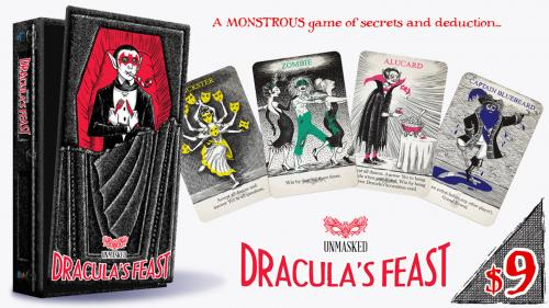 Dracula's Feast: A monstrous game of secrets and deduction