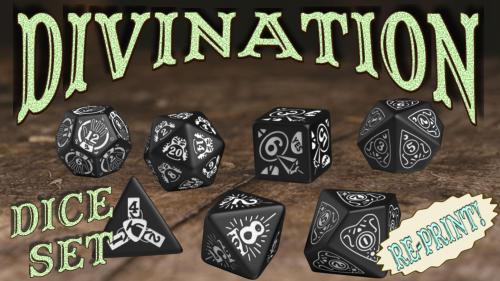 Divination Dice Set (Re-Print)