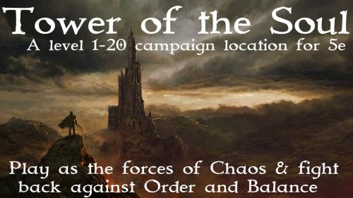 Tower of the Soul - 5e campaign location