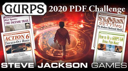 Steve Jackson Games  GURPS 2020 PDF Challenge