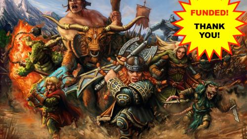 WARBAND: Against the Darkness Strategy Board Game