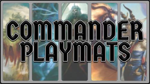 Commander Playmats