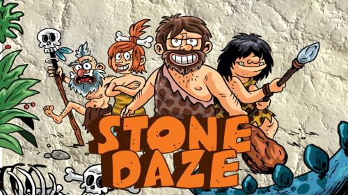 Stone Daze - strategy board game to watch (your head) for