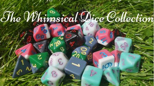 The Whimsical Dice Collection from The Secret Cat Shop