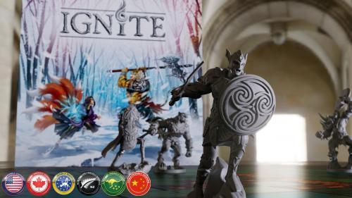 Ignite - Tabletop Miniatures Boardgame